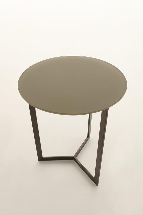 Runde Tische für Wohnzimmer | IDFdesign