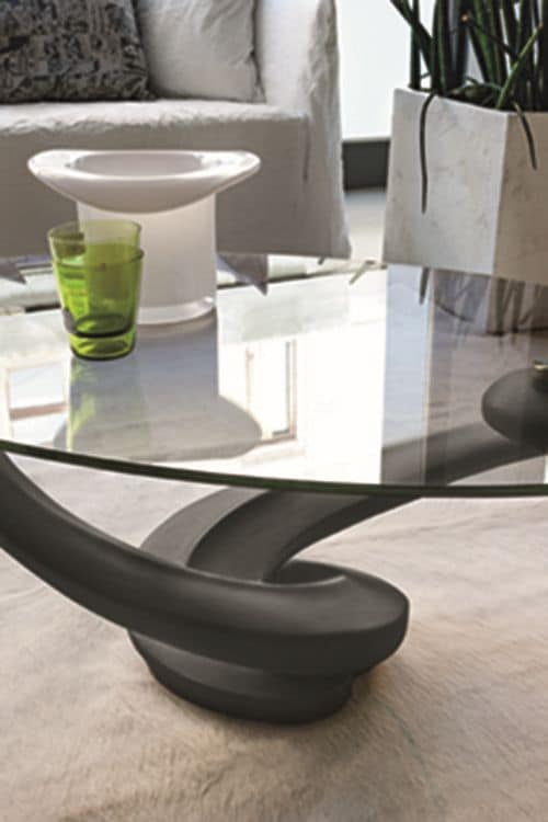 Couchtische mit Glasplatte für Wohnzimmer geeignet  IDFdesi