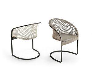 Aretè AR01, Stuhl aus geschnitztem Leder