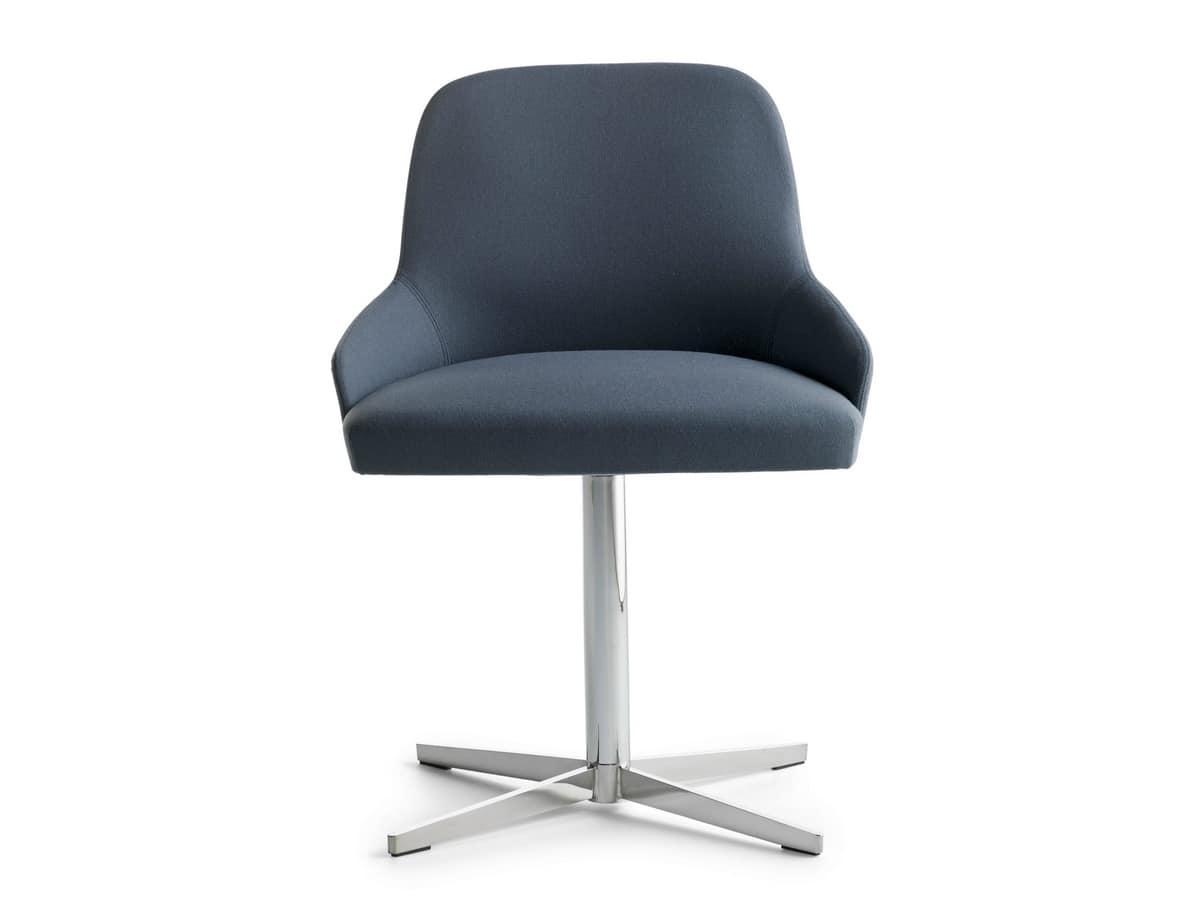 Axel 4X/FU, Swivel gepolsterte Sessel