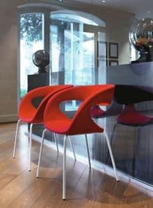 Raff S TS, Sessel mit Metallgestell, zum Empfang