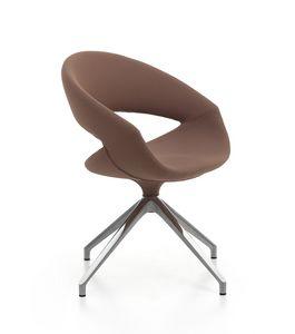 Spot Soft 01 FLC, Gepolsterter Sessel mit Drehgestell
