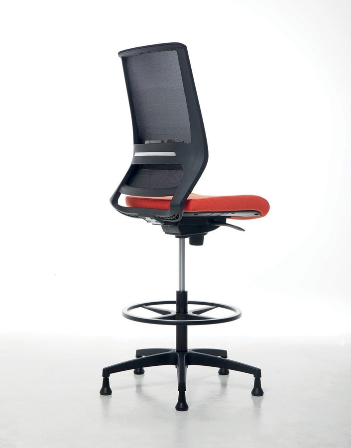 Logica Stool 01, Drehhocker für Büro