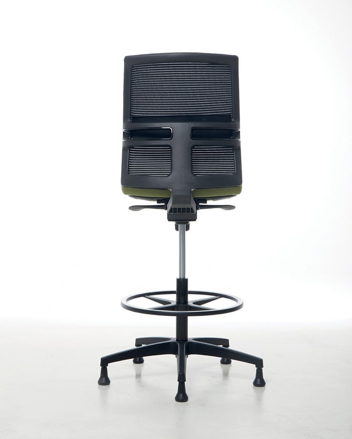 Omnia Plus Stool 02, Verstellbarer Bürohocker