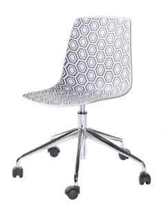 Alhambra 5R, Stuhl mit Drehgestell mit Rollen, für Büro