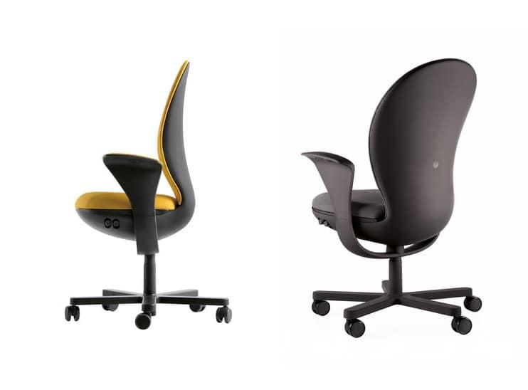 BEA, Aufgabe Bürostuhl, voller ergonomische Anpassungen