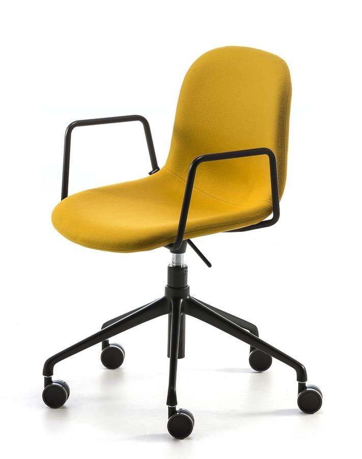Máni fabric AR-HO, Bürostuhl mit Rädern