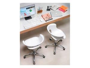 Miss b office, Drehstuhl, höhenverstellbar, mit Rädern