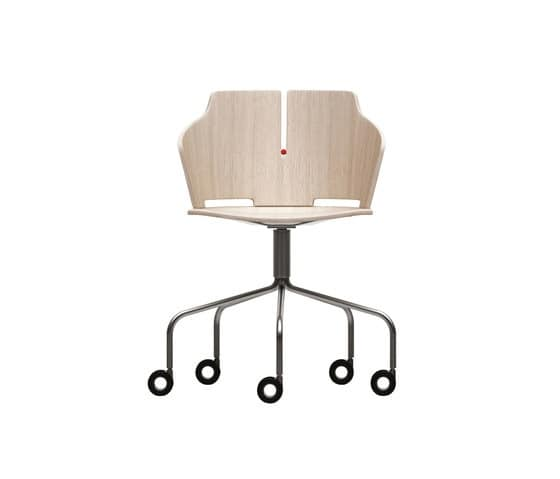 stuhl mit rollen f r b ro idfdesign. Black Bedroom Furniture Sets. Home Design Ideas