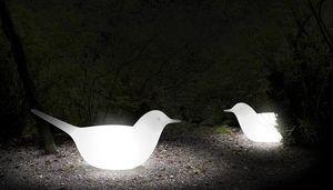 Paloma, Dekoratives Objekt für Garten, Vogel-förmig