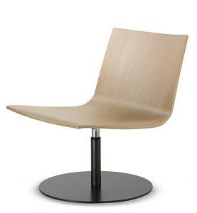 EXEN 240, Drehbarer Stuhl aus Holz