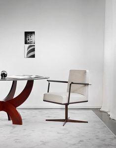 Florence, Drehstuhl, mit gepolsterter Schale