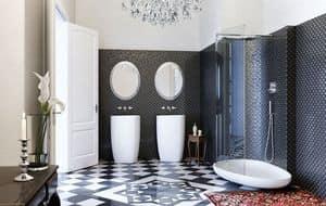 BEYOND SHOWER, Dusche mit flachen, Klarglas