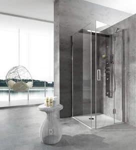 Bristol Box 4, Dusche, mit Jacuzzi, für Spa