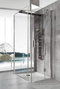 Bristol Box 6, Duschabtrennung, Multifunktions, für modernes Schwimmbad