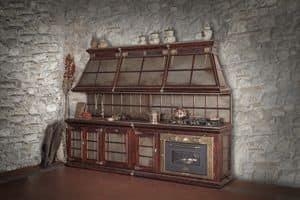 Art. 635, Rustikale Küche mit im Alter von Corten Finishing.