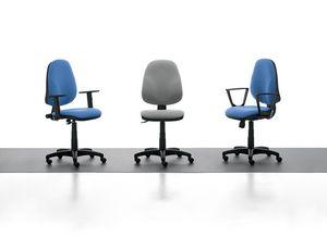 Tiger 01 CP, Bürostuhl mit hoher Rückenlehne für Büro