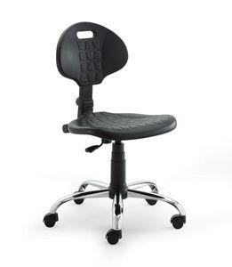 UF 426, Stuhl mit Polyurethan Sitz und Rücken