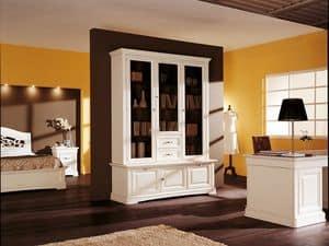 Art.104/L, Klassischen Stil Schrank mit Türen und Schubladen