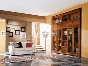 Art.110/L, Holzgehäuse mit Glastüren für Wohnräume