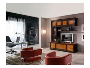 Handgeschnitzte m bel f r wohnzimmer mit bioethanol kamin idfdesign - Einrichtung aus italien klassischen stil ...