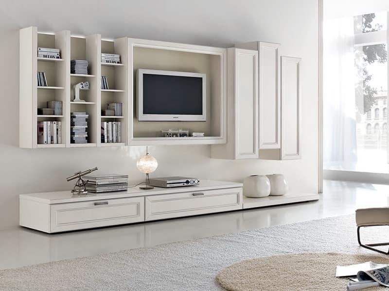 Lagerung modulare wohnzimmersysteme idf - Mobili bassi sala mondo convenienza ...