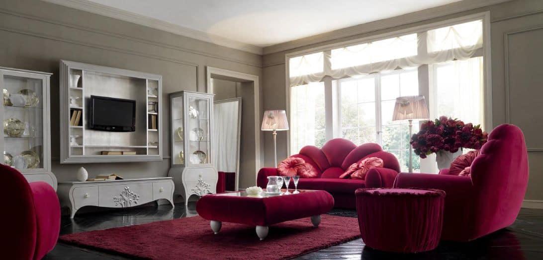 M bel f r wohnzimmer klassisch modernen stil idfdesign for Wohnzimmer klassisch