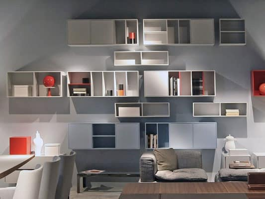 speichern schr nke f r wohnzimmer carabottini. Black Bedroom Furniture Sets. Home Design Ideas