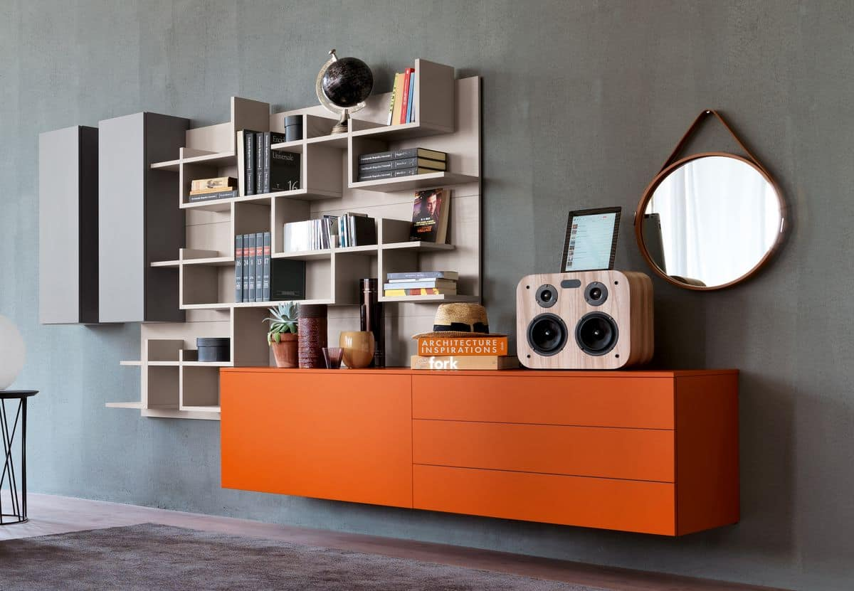 Modulare Systeme für moderne Wohnräume geeignet | IDFdesign