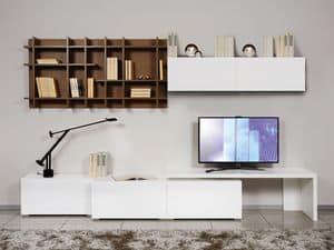 Climb Day 23, Modulare Möbel für Wohnzimmer, im minimalistischen Stil