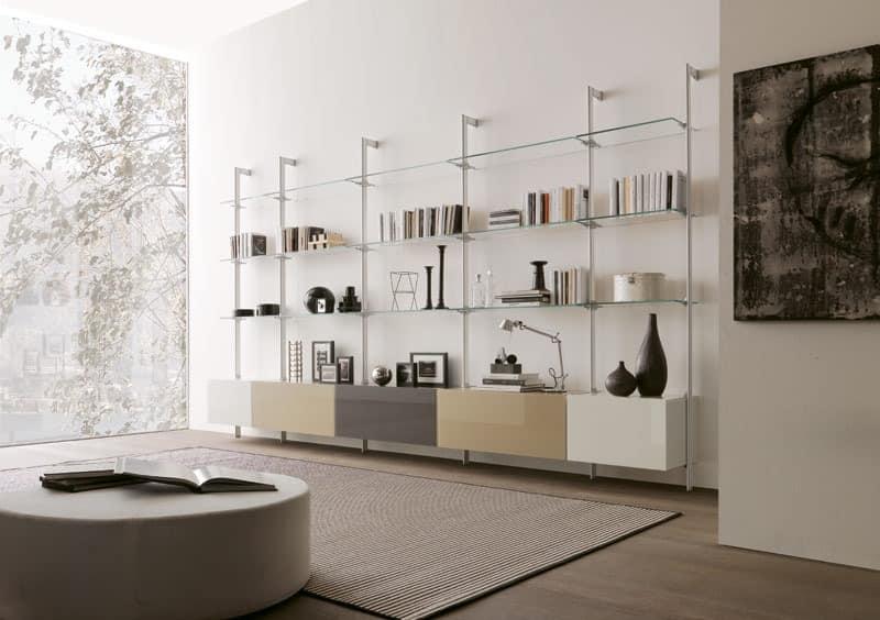 Wohnzimmermöbel In Glas Und Melamin Für Modernes Wohnen Idfdesign