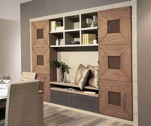 Gaia 120, Modulare Möbel für Wohnzimmer