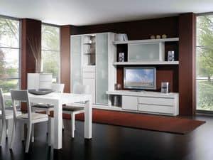 Wand Tag 09, Modulare Möbel für Wohnzimmer, wahre Qualität