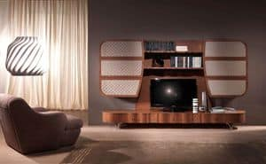LB28a Mistral Wand, Multifunktions-Handy in Holz, für moderne Wohnräume