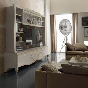 New Age Art. NA007, Wohnzimmermöbel mit Klappentür