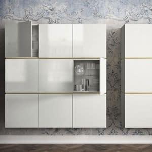 modernes sideboard aus metall stil och charm av en kvinna. Black Bedroom Furniture Sets. Home Design Ideas