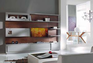 Prima Classe ausgestattete Wand, Wandeinheit für Wohnzimmer, modular