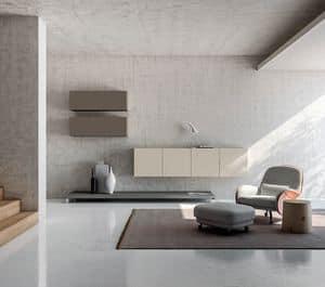 SEVENTY DAY comp.09, Möbel für Wohnzimmer, modulare Container Möbel