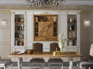 Simon ausgestattete Wand, Wohnzimmermöbel im klassischen Stil