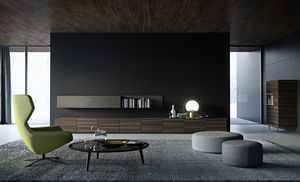 STRIPE Schrank comp.03, Unterschrank für Wohnraum, modular