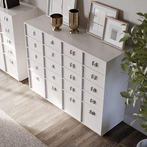 TOOLBOX comp.01, Wohnzimmermöbel, Lagereinheiten mit Schubladen