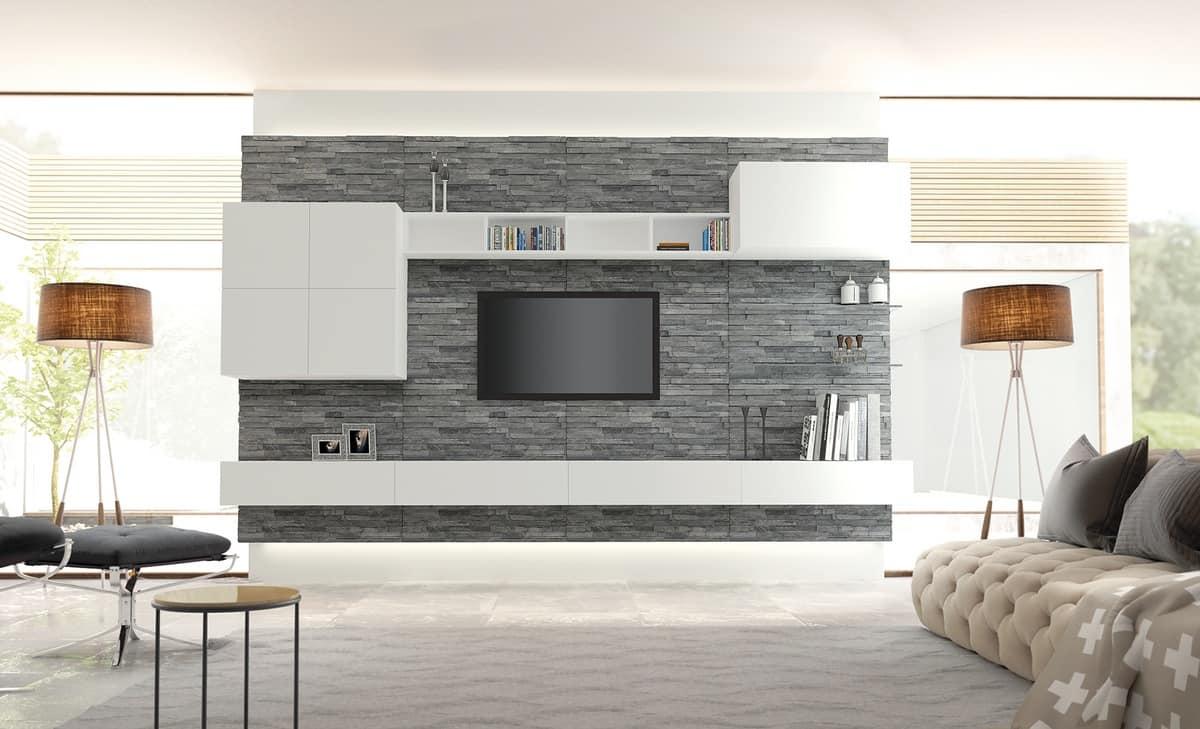 Wainscoting Wohnzimmermöbel, überdachte in Rock | IDFdesign