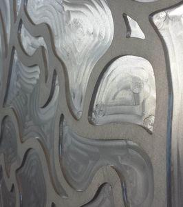 Maßgeschneiderte Dekorplatte aus Aluminium, realisiert mit 3D-Fräsen, Dekorative Paneele mit 3D-Fräsen