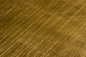 Ottone satinato incrociato, Anpassbare Stücke von Metall-Möbel