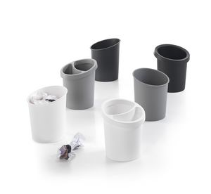 Hi-Tech 2, Stapelbaren Papierkorb aus Polypropylen