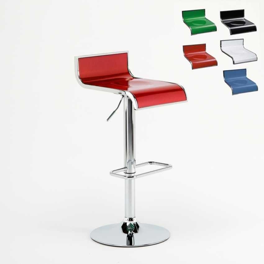 Design Küche Hohen Barhocker Florida U2013 SGA041FLO, Verstellbarer Hocker,  Drehbar 360 °, Mit