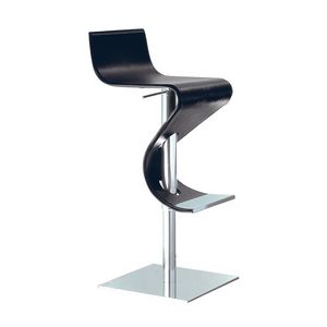 Tampa, Swivel stool with leather seat