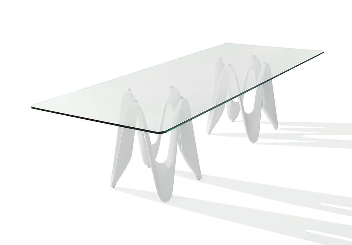 tisch mit abdeckplatte aus glas im haus idfdesign. Black Bedroom Furniture Sets. Home Design Ideas