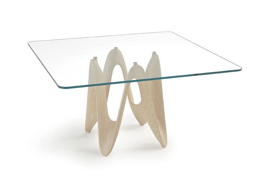 Esstisch Formen ~ Esstisch, dynamische Formen, Glasplatte  IDFdesign