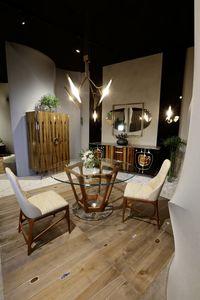 PALLANTE Tisch, Luxus-Tisch mit sechseckiger Basis